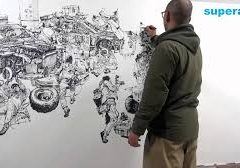 Kim Jung gi Drawing show